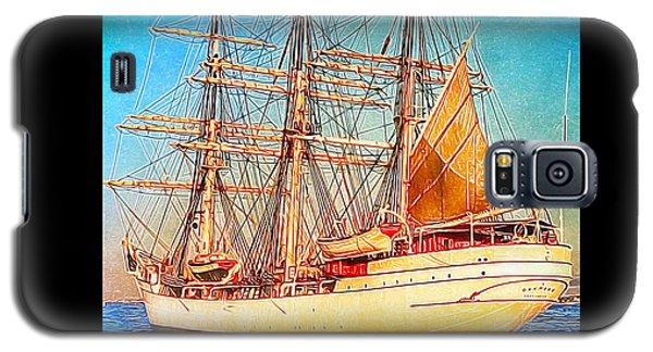 Tall Ship Galaxy S5 Case