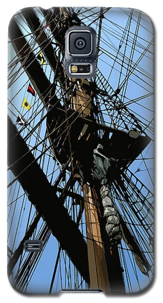 Tall Ship Design By John Foster Dyess Galaxy S5 Case