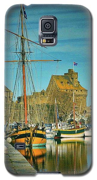 Tall Ship In Saint Malo Galaxy S5 Case