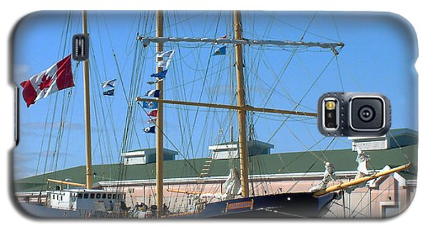 Tall Ship Waiting Galaxy S5 Case by RC DeWinter
