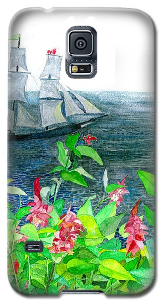 Tall Ships In Victoria Bc Galaxy S5 Case