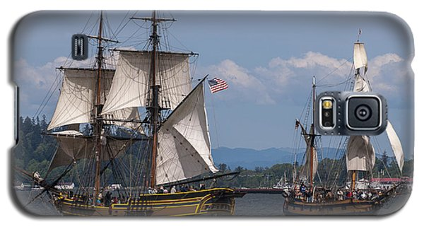 Tall Ships Square Off Galaxy S5 Case