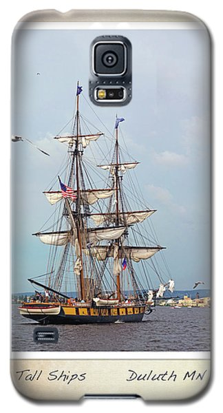 Galaxy S5 Case featuring the photograph Tall Ships V1 by Heidi Hermes