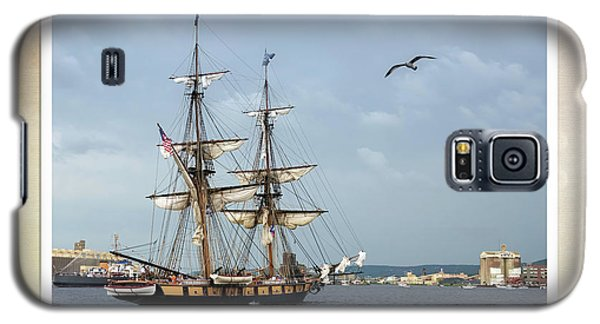 Galaxy S5 Case featuring the photograph Tall Ships V3 by Heidi Hermes
