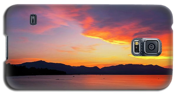 Tallac On Fire Galaxy S5 Case