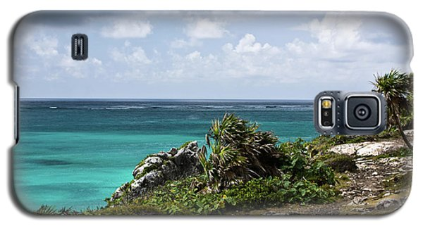 Talum Ruins Mexico Ocean View Galaxy S5 Case