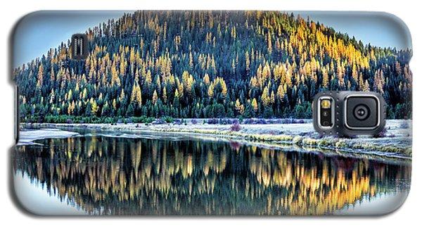 Tamarack Glow Idaho Landscape Art By Kaylyn Franks Galaxy S5 Case