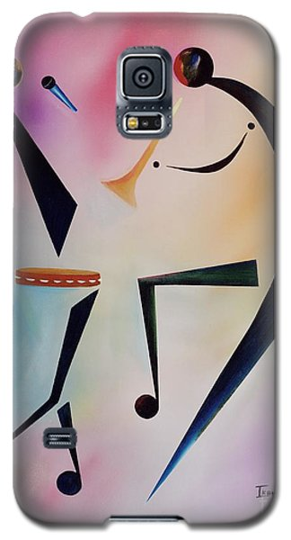 Trumpet Galaxy S5 Case - Tambourine Jam by Ikahl Beckford