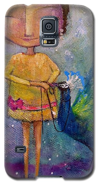 Galaxy S5 Case featuring the painting Tame Your Pride by Eleatta Diver