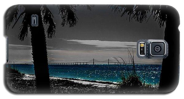 Tampa Bay Blue Galaxy S5 Case