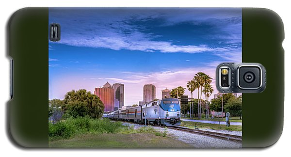 Galaxy S5 Case featuring the photograph Tampa Departure by Marvin Spates
