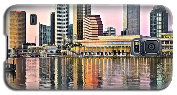 Tampa In Vivid Color Galaxy S5 Case by Frozen in Time Fine Art Photography