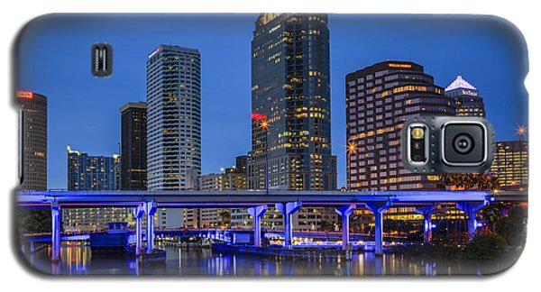Tampa Night Galaxy S5 Case by Mike Lang