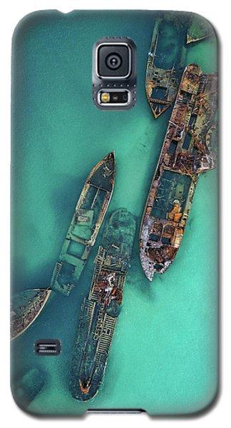 Tangalooma Wrecks Galaxy S5 Case