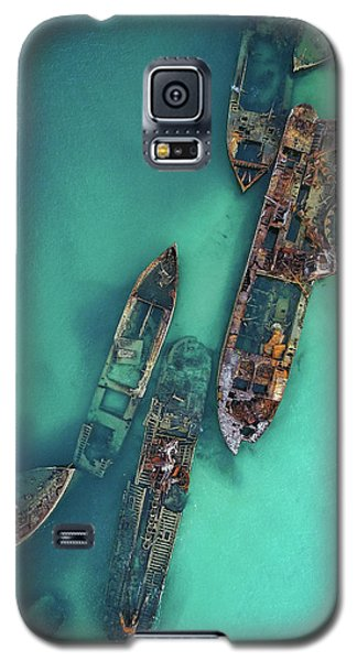 Tangalooma Wrecks Galaxy S5 Case