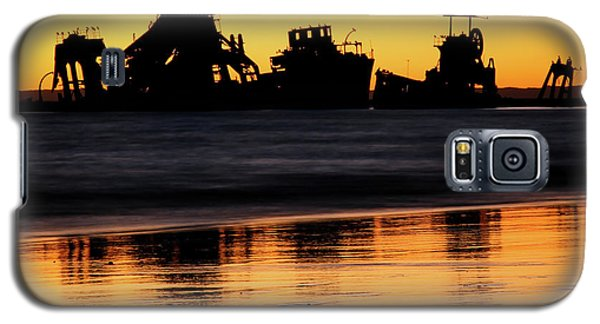 Tangalooma Wrecks Sunset Silhouette Galaxy S5 Case