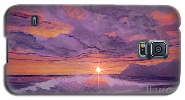 Tangerine Sky Galaxy S5 Case by Holly Martinson