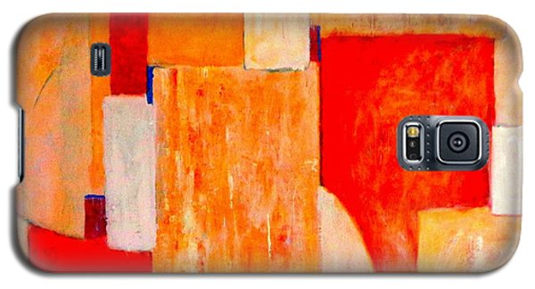 Tangerines Abstract Galaxy S5 Case