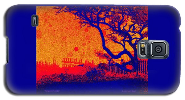 Tangerine Twilight Galaxy S5 Case