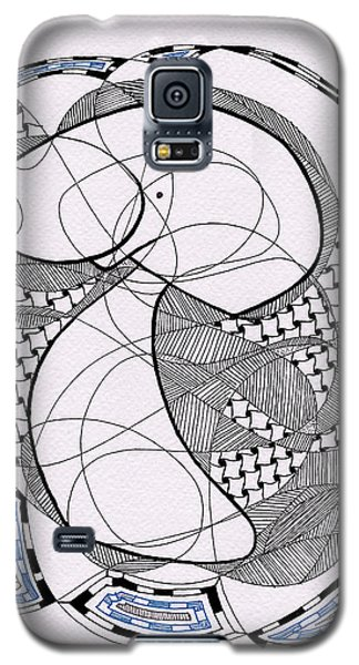 Tangle Monster Drawing Galaxy S5 Case