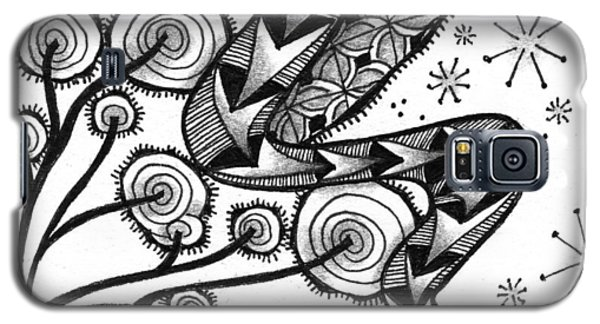 Tangled Serpent Galaxy S5 Case