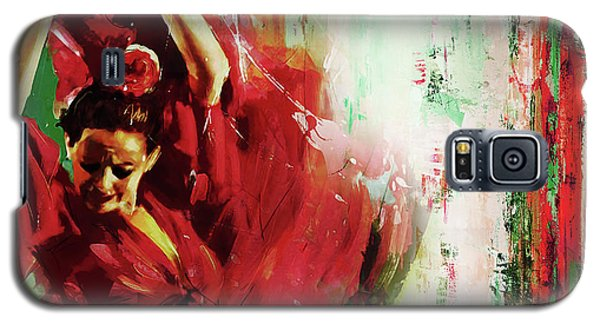 Galaxy S5 Case featuring the painting Tango Dance 45g by Gull G