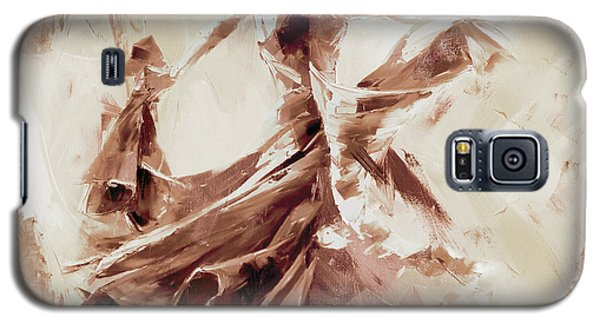 Galaxy S5 Case featuring the painting Tango Dance 9910j by Gull G