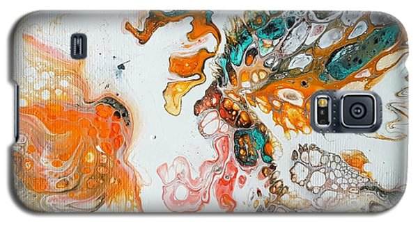 Tango With Turquoise Galaxy S5 Case