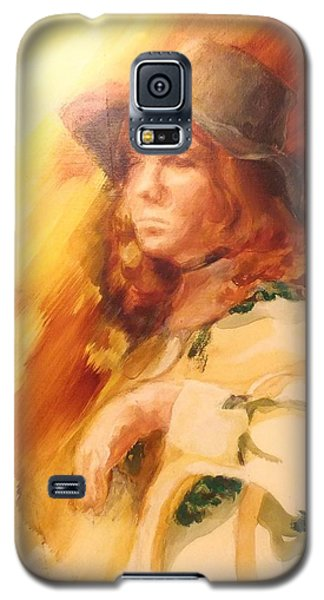 Galaxy S5 Case featuring the painting Tangy by Denise Fulmer