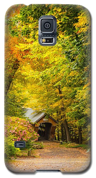 Tannery Hill Covered Bridge Galaxy S5 Case