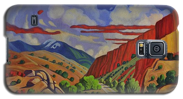Taos Gorge Journey Galaxy S5 Case