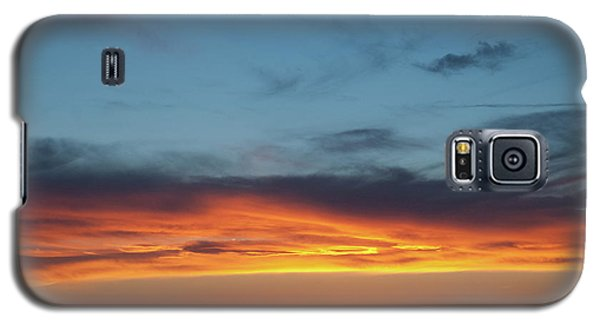 Taos Mesa Sunset Galaxy S5 Case