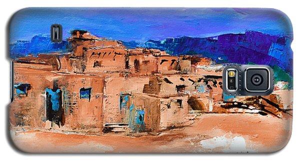Taos Pueblo Village Galaxy S5 Case