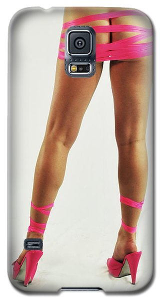 Tape And Heels Galaxy S5 Case by Robert WK Clark