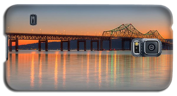 Tappan Zee Bridge After Sunset II Galaxy S5 Case