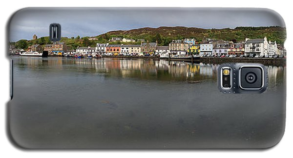 Tarbert Harbour - Panorama Galaxy S5 Case