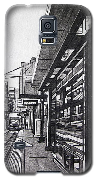 Galaxy S5 Case featuring the mixed media Target Station by Jude Labuszewski