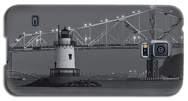 Tarrytown Lighthouse And Tappan Zee Bridge At Twilight II Galaxy S5 Case