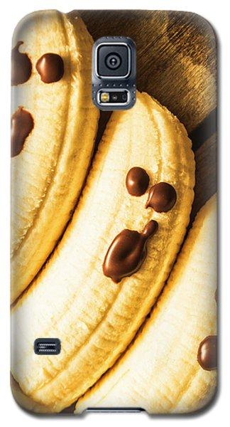 Banana Galaxy S5 Case - Tasty Healthy Halloween Treats For Kids by Jorgo Photography - Wall Art Gallery