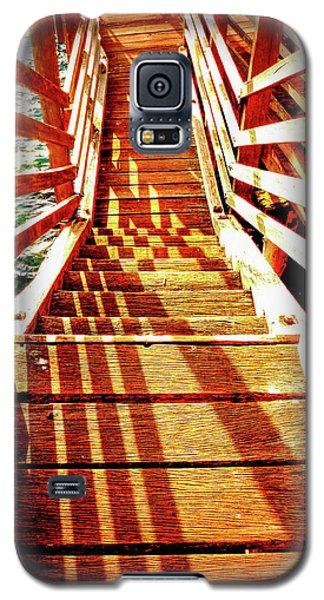 Tathra Wharf Stairs Galaxy S5 Case by Lexa Harpell