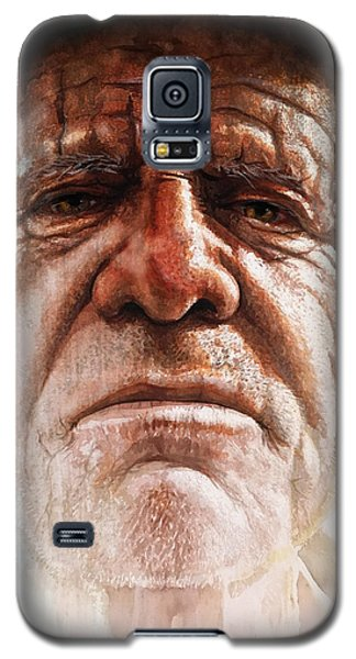 Galaxy S5 Case featuring the painting Tatoos Of A Resilience by J- J- Espinoza