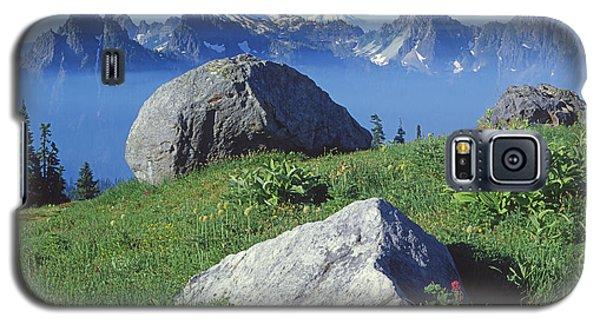 1m4862-tatoosh Range And Mt. St. Helens  Galaxy S5 Case