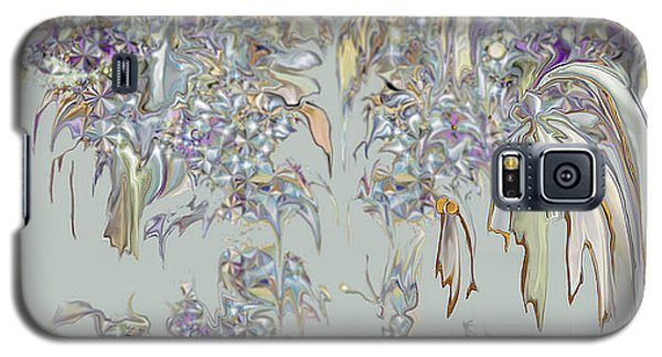 Galaxy S5 Case featuring the digital art Tattered Pieces by Loxi Sibley