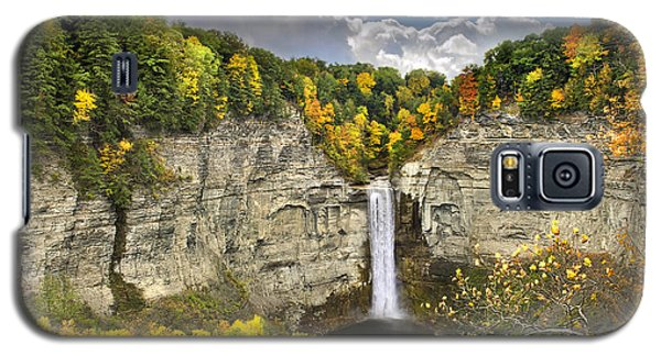 Taughannock Falls Autumn Galaxy S5 Case