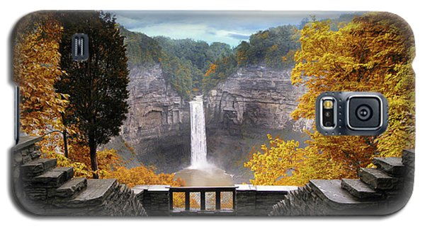 Taughannock In Autumn Galaxy S5 Case
