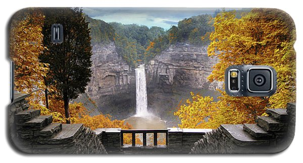 Taughannock In Autumn Galaxy S5 Case by Jessica Jenney