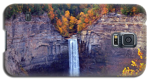 Taughannock Waterfalls In Autumn Galaxy S5 Case