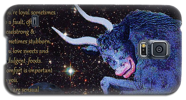 Taurus Birthday Zodiac Astrology Galaxy S5 Case
