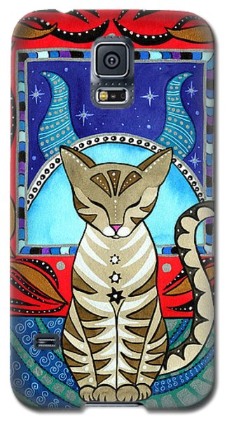 Taurus Cat Zodiac Galaxy S5 Case