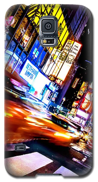 Taxi Square Galaxy S5 Case by Az Jackson